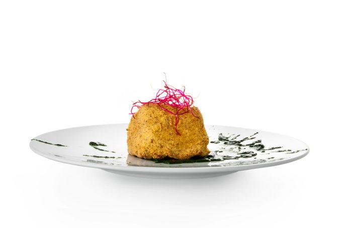 Secondo - Filetto di baccalà Morro in crosta di pignoletto rosso